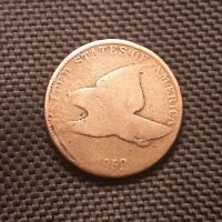 1858 FLYING EAGLE CENT/PENNY - AG