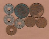 EIGHT PALESTINE COINS 1927 TO 1944 IN FINE OR BETTER CONDITI