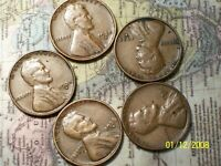 1935-S  @   LINCOLN PENNY FROM OLD ROLL