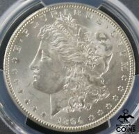 1894-S UNITED STATES SILVER 90 MORGAN DOLLAR COIN PCGS MINT STATE 63 CHOICE UNC