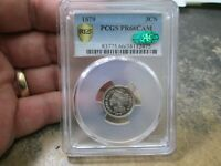 1879 PROOF US 3 CENT III NICKEL COIN IN PCGS CAC PR66 CAM CONDITION