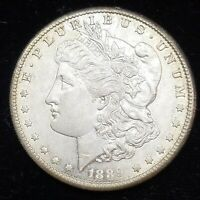 1889-S MORGAN SILVER DOLLAR UNC.