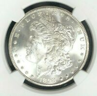 1898-O MORGAN SILVER DOLLAR  NGC MINT STATE 64 BEAUTIFUL COIN REF42-028