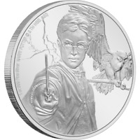 2020 NIUE HARRY POTTER CLASSIC 1 OZ .999 SILVER PROOF COIN   5 000 MADE