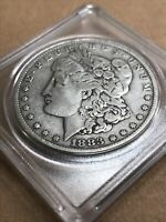 1883 P MORGAN DOLLAR GOOD SHAPE IN CASE
