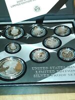 UNITED STATES MINT LIMITED EDITION 2020 SILVER PROOF SET