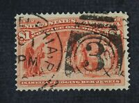 CKSTAMPS: US STAMPS COLLECTION SCOTT241 $1 COLUMBIAN USED LI