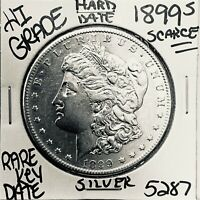 1899 S MORGAN SILVER DOLLAR HI GRADE GENUINE U.S. MINT  KEY