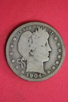 1904 O BARBER LIBERTY QUARTER EXACT COIN SHOWN SILVER COMBINED SHIPPING OCE 19