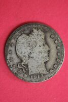 1913 P BARBER LIBERTY QUARTER EXACT COIN SHOWN SILVER COMBINED SHIPPING OCE 60