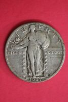 1927 P STANDING LIBERTY SILVER QUARTER EXACT COIN SHOWN COMBINED SHIPPING OCE 15