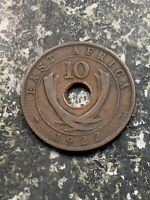 1922 EAST AFRICA 10 CENTS LOTZ9994