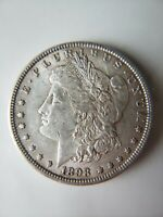 1898 SILVER DOLLAR 90 SILVER $1 COIN LOW MINTAGE