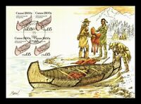 DR JIM STAMPS US CANOE TRANSPORTATION COIL FDC CONTINENTAL S