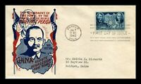 DR JIM STAMPS US SUN YAT SEN CHINESE RESISTANCE FIRST DAY CO