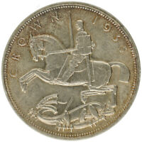 UK   SILVER 1 CROWN COIN   'GEORGE V: SILVER JUBILEE'   1935