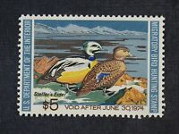 CKSTAMPS: US FEDERAL DUCK STAMPS COLLECTION SCOTTRW40 $5 MIN