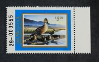 CKSTAMPS: US STATE DUCK STAMPS COLLECTION $5 MONTANA MINT NH