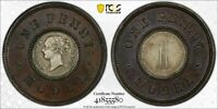 1844  GREAT BRITAIN MODEL 1 PENNY PCGS MS62 LOTG1135 NICE EXAMPLE