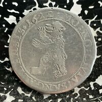1622 SWITZERLAND ST. GALLEN 1 THALER LOTJM3129 LARGE SILVER COIN  OLD CLEANING