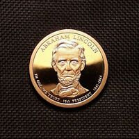 2010 S PRESIDENTIAL DOLLAR, ABRAHAM LINCOLN - PROOF
