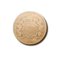 1869 TWO CENT PIECE - GOOD