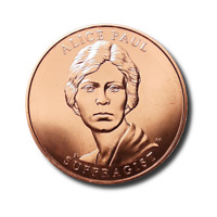 2012 FIRST SPOUSES BRONZE MEDAL - ALICE PAUL