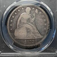 1872 P SEATED LIBERTY DOLLAR - PCGS GOOD DETAILS