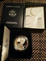 2006 SILVER EAGLE PROOF COIN W