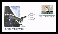 DR JIM STAMPS US PRIORITY MAIL HIGH VALUE SPACE SHUTTLE UNSE
