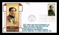 DR JIM STAMPS US HARRY HOUDINI LIMITED EDITION FIRST DAY COV