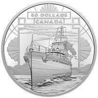 2021 CANADA $50 100 YEARS CONFEDERATION COMING OF AGE BOAT S