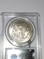 1890-O PCGS MINT STATE 65 MORGAN DOLLAR BRILLIANT  COIN IN THIS STATE