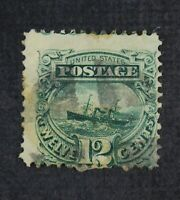 CKSTAMPS: US STAMPS COLLECTION SCOTT117 12C PICTORIAL USED H