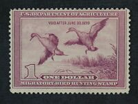 CKSTAMPS: US FEDERAL DUCK STAMPS COLLECTION SCOTTRW5 $1 MINT
