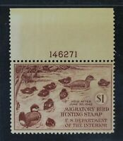 CKSTAMPS: US FEDERAL DUCK STAMPS COLLECTION SCOTTRW8 $1 MINT