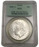 1899 O MINT STATE 63 MORGAN SILVER DOLLAR PCGS 90 SILVER MINT STATE US COIN