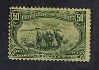 CKSTAMPS: US STAMPS COLLECTION SCOTT291 50C UNUSED NG THIN
