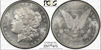 1878 7/8 TF MORGAN DOLLAR PCGS MINT STATE 63 STRONG GOLD SHIELD