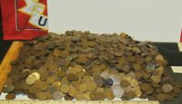 APPROXIMATELY 3700  LINCOLN COPPER WHEAT PENNIES NO STEEL 25