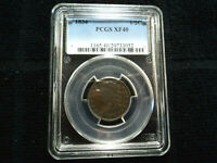 1834 CLASSIC HEAD 1/2 CENT HALF CENT COIN GRADED PCGS EXTRA FINE 40 EXTRA FINE