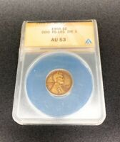 1955 DOUBLED STAMPED DIE OBVERSE LINCOLN PENNY DDO CERTIFIED
