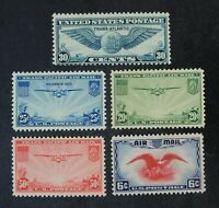 CKSTAMPS: US AIR MAIL STAMPS COLLECTION SCOTTC20 C24 MINT NH