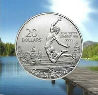 CANADA   2013 $20 FOR $20 SERIES   SUMMER FUN' PROOF $20 SIL