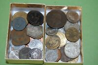 50  LOT OF VARIOUS FOREIGN WORLD COINS INCLUDES 1800'S AND S
