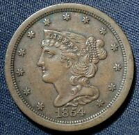 1851 LARGE CENT 1  NICE COIN