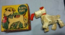 alps playful puppy dog windup toy
