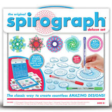 spirograph original 48 piece deluxe set draw