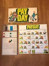 1975 payday board game parker