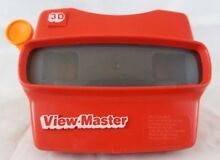 red viewmaster 3d view master